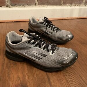 99c64e5a0a Image is loading ADIDAS-Adizero-Gray-Silver-Black-Running-Shoes-2011-