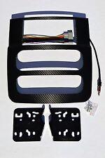 Dodge RAM Double Din 2002 2003 2004 2005 1500 2500 Carbon Fiber 3M Vinyl Wrap
