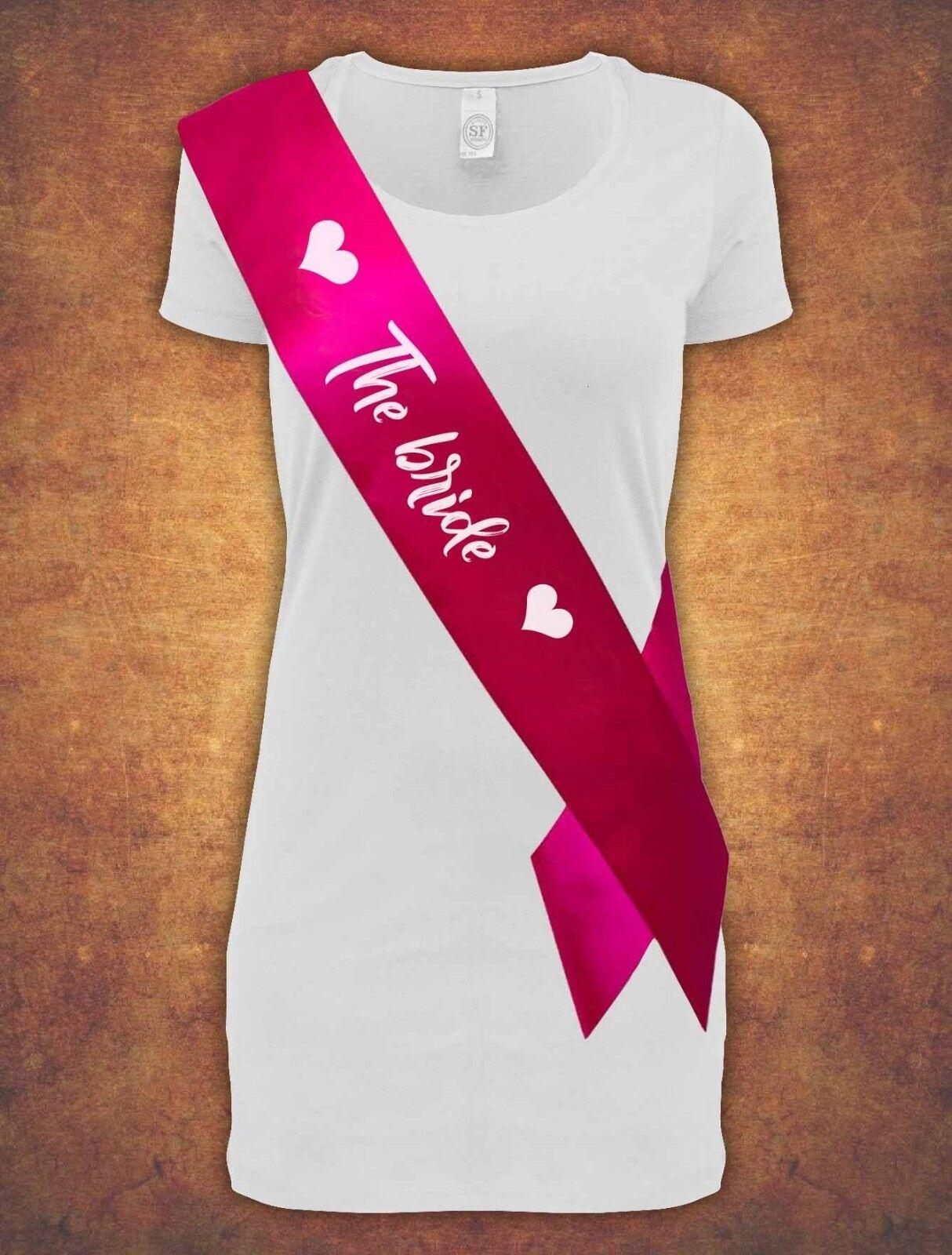 The Bride Hen Night Bachelorette Bridal Shower UK Party 2019 Pink