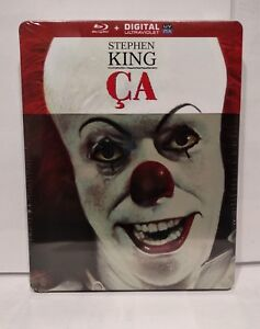 Steelbook-Blu-Ray-Stephen-KING-034-CA-034-IL-EST-REVENU-Neuf-New-amp-sealed