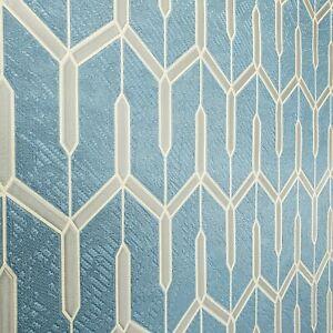 Navy-blue-bronze-gold-metallic-faux-carbon-textured-Wallpaper-Geometric-lines-3D