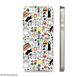 newest 07ec1 2b840 Details about STUDIO GHIBLI MY NEIGHBOR TOTORO CLEAR CASE FOR IPHONE 4 4S 5  5S 5C 6 6S PLUS