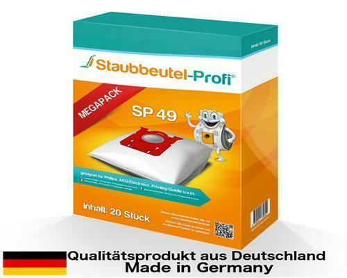 20 sacs pour aspirateur convient pour AEG-Electrolux de 3930-3966 Ultra Silencer