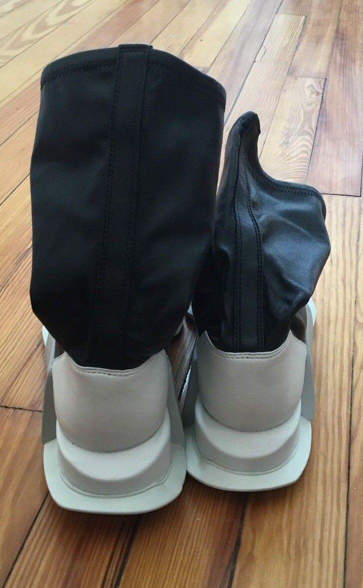 Adidas rick owens - by2932 scarpe da ginnastica di alto livello runner di cuoio