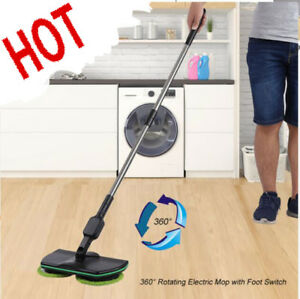Wireless-Rotary-Electric-Mop-Rechargeable-Floor-Mops-Cleaner-Scrubber-Polisher-amp