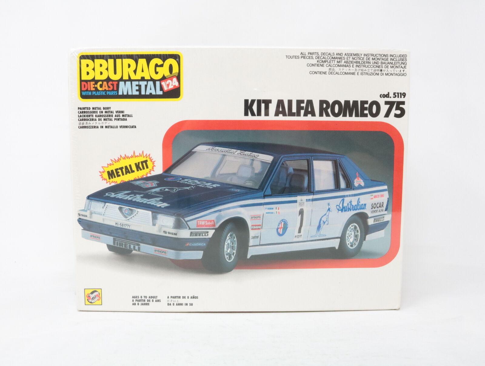 esclusivo 1 24 BBURAGO METAL KIT ALFA ROMEO 75 cod. 5119 5119 5119  [YQ-009]  al prezzo più basso