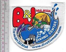 SCUBA Diving Malaysia B & J Diving Center Pulau Tioman, Pahang, Malaysia