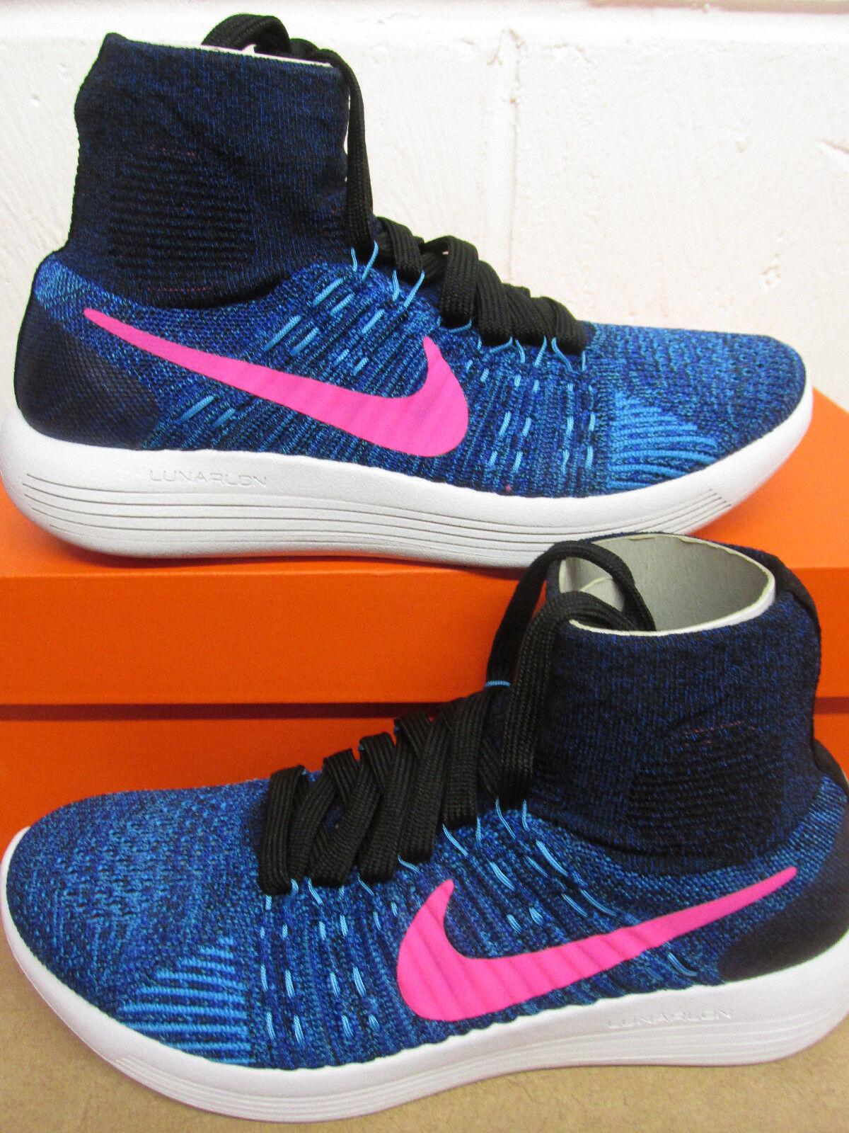 Nike Mujer Lunarepic Flyknit Zapatillas Corriendo Zapatillas 818677 004 Zapatillas Corriendo 4dd717
