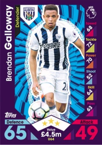 MATCH ATTAX EXTRA 2017 2016//17 SELECT SQUAD UPDATE CARDS