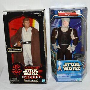 Star-Wars-12-034-Figure-Dengar-amp-Obi-Wan-Kenobi-Episode-1-Empire-Strikes-Back-NIB