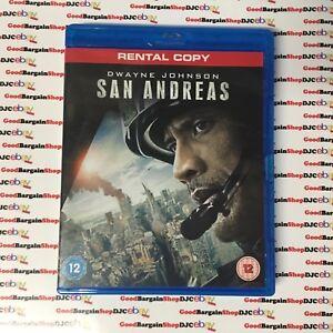 San Andreas (Blu-ray, 2015) r