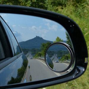 2x-Spiegel-toter-Winkel-rund-Seitenspiegel-Autospiegel-Aussenspiegel-Auto-NEU