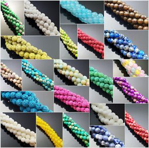 Lot-Natural-Gemstone-Round-Spacer-Loose-Beads-Wholesale-4mm-6mm-8mm-10mm-12mm