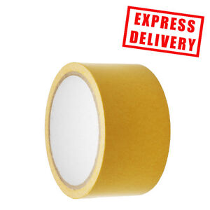 Double-Sided-Multi-Purpose-Cloth-Carpet-Tape-Strong-50mm-x-10m-Crystal-Tape