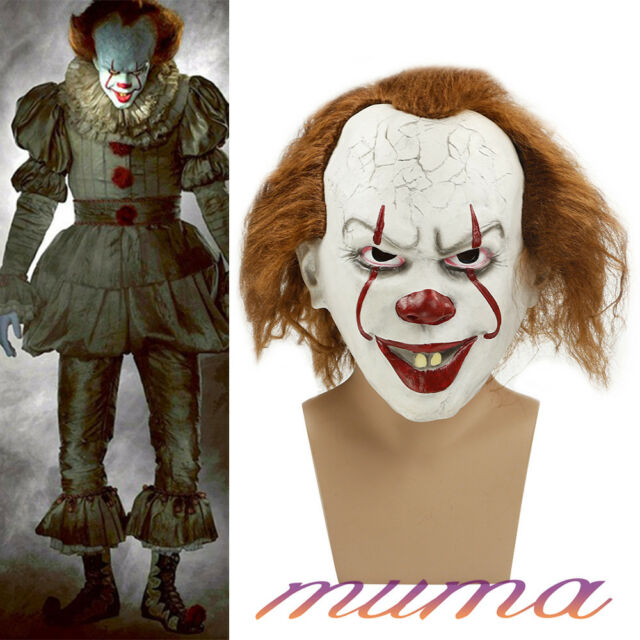 halloween costume source real life mask pennywise it clown stephen king s fancy costume