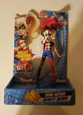 Harley Quinn DC Comics Super Hero Girls Hero Action Figure Mallet Mashing Doll