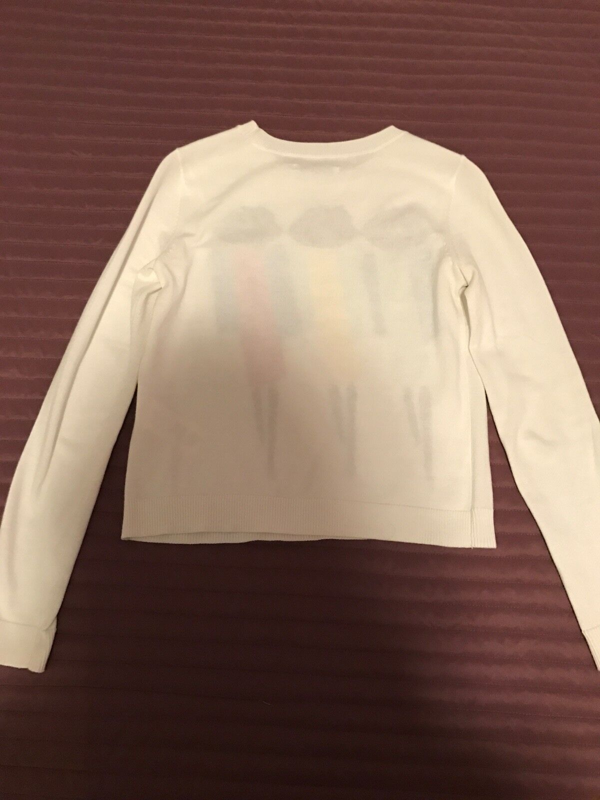 Alice + Olivia Embroidered Cotton Long Sleeve Sweater Sweater Sweater Size XS 25e192