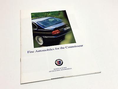 8 pagine BMW ALPINA b3 b5 b6 b7 d3 POSTER prospetto brochure di 3//2009