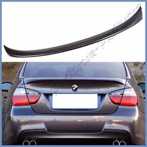 Carbon Fiber Rear Spoiler Wing For BMW E90 4D Sedan 325i 328i 330i 335i 06-11 P