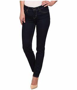 Bleu 712 Rise Jeans Levi Slim Strauss 25x32 Mid Femme Foncé Nouveau RWR4StH