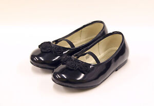 L-039-AMOUR-Black-Flats-New-in-Box-Size-8