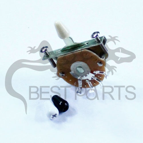 best parts 3way Switch Three-Way 3-way strat pickup Selector Switch BLUK OF 50