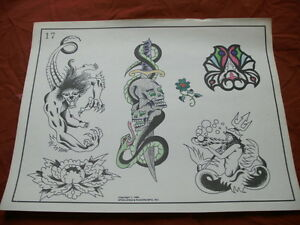 1984 spaulding rogers flash art mysticism designs page for Spaulding rogers tattoo
