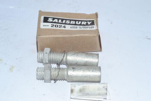 NEW Salisbury 2024-2//0 Copper Threaded Grounding Ferrules