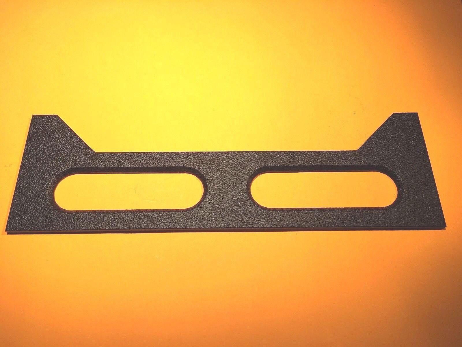 Panel Panel Panel posterior para Fender negroface Bassman cabeza de amplificador 875345