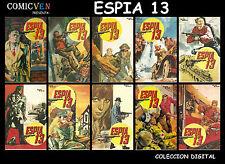 ESPIA 13 - 92 COMICS DIGITALES - MEXICAN COMICS