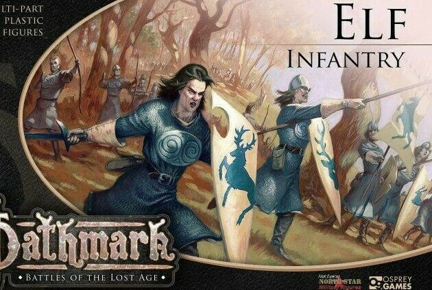 OATHMARK ELF  INFANTRY 28mm 30 figures for Warlord Games Warlords of Erehwon