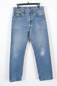 professional website hot-selling real popular stores Details about VTG LEVIS 501 Button Fly High Waisted BOYFRIEND Jeans USA  Womens Size 32x31