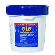 GLB 71218 Stabilized Granular Chlorine, Swimming Pool Water Sanitizer, 4 lbs New