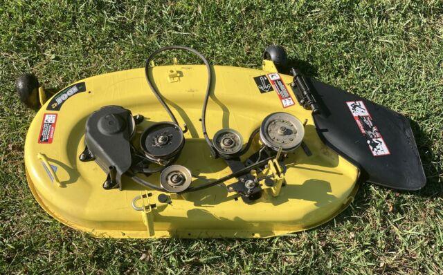 """john deere lt155 42"""" mower deck lt133 lt150 lt160 lt166  ebay"""