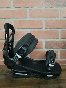 Union-Flite-Pro-Black-Snowboard-Bindings-Men-039-s-Sz-L