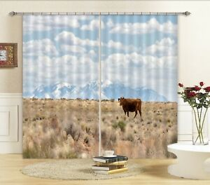 3D-Plateau-134-Blockout-Photo-Curtain-Printing-Curtains-Drapes-Fabric-Window-AU