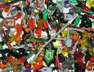 Lego ® Lot x25 Armes Epée Arc Lance Carquois Chevalier Aléatoire Weapon Castle