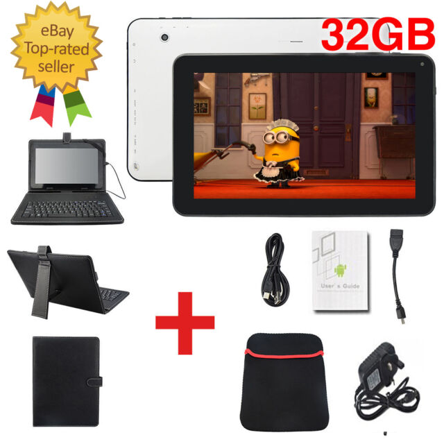 """10.1"""" Inch Android 5.1.1 Wifi Quad Core Dual Camera Tablet PC HDMI Keyboard 32GB"""
