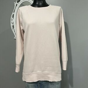 Small-OLD-NAVY-Womans-Light-Pink-Tunic-Sweatshirt