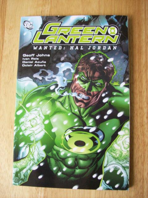 Green Lantern Wanted: Hal Jordan Trade Paperback, Geoff Johns (2007) DC Comics