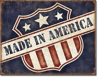 Made In America Tin Sign metal poster rustic americana home decor wall art 2119