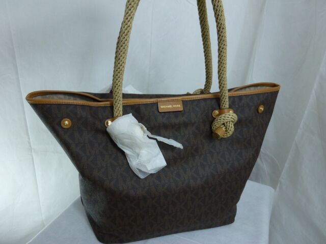 628c9dbe3800 ... handbags purses wallets dillards de392 9c625; cheap nwt michael kors mk  signature maritime large beach brown totemsrp348 6f04d 15965