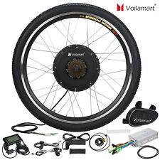 48v Rear Wheel Electric Bicycle E Bike Motor Conversion Kit 1000w Hub LCD Meter