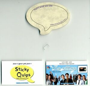 034-The-Office-034-screen-used-staple-plus-Sticky-Quips-Speech-Bubble-Balloon
