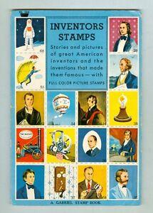 Inventors-Stamps-1955-VG-Kids-stamp-book