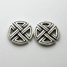 Templar Knight Celtic Cross Lily Stud Earrings Sterling Silver 925 Jewelry Gift