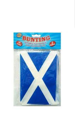 5 mètre 12 flagsscotland Drapeau Bunting Convient pour intérieur et extérieur