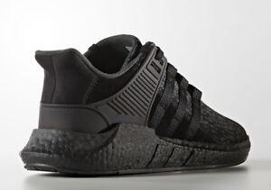 e05e7f776 BY9512 Adidas EQT 93 17 size 12.5 Triple Black ultra boost nmd Primeknit