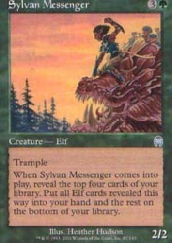 4x Sylvan Messenger Light Play English Apocalypse MTG Magic