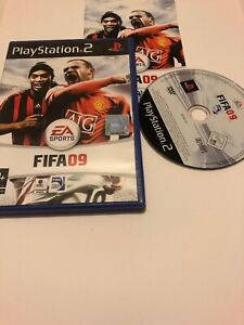 Jeu-Playstation-2-Ps2-Pal-Fr-fifa-football-09-2009-complet